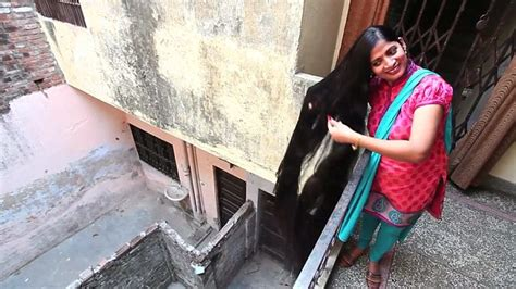 world guiness record holder for pubic hair indian woman with seven foot long hair hopes to becoming