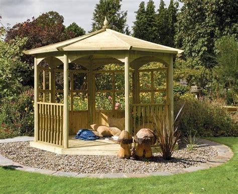 gazebo legno usato gazebo in legno arredamento giardino