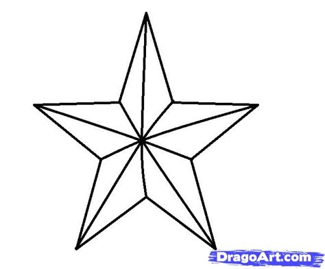 Free Online 3d Drawing how to draw a 3d star step by step symbols pop culture