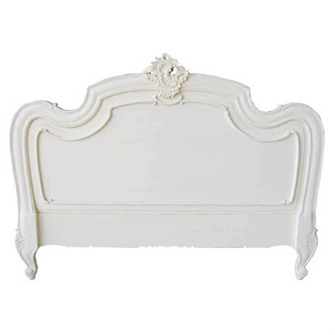white antique headboard louis xv headboard antique white french bedroom 163 285 00