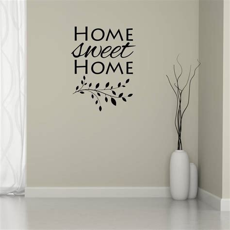 home sweet home wall stickers home sweet home branch wall sticker by mirrorin notonthehighstreet