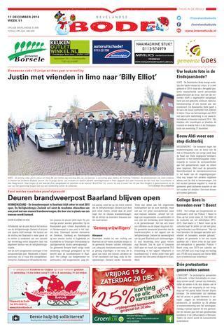 keuken outlet s gravenpolder bevelandse bode 17 12 2014 by uitgeverij de bode issuu