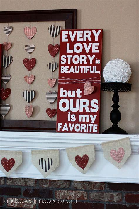 valentines day decor valentine s day mantel landeelu com