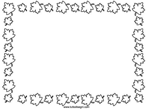 fall coloring page borders 498 best enmarcar y bordear images on pinterest clip art
