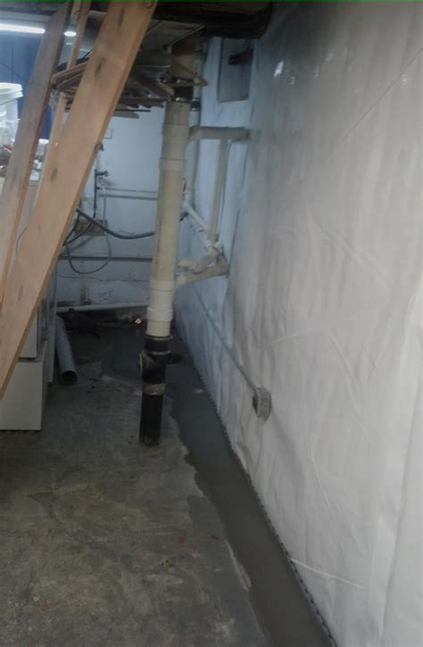 clean space basement systems frontier basement systems basement waterproofing photo
