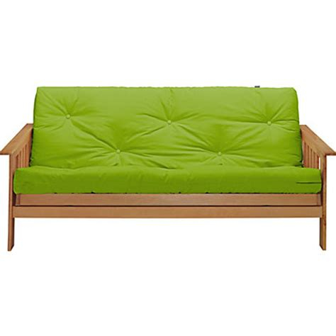 Cuba Futon by Colourmatch Cuba Futon Sofa Bed With Mattress Apple Green