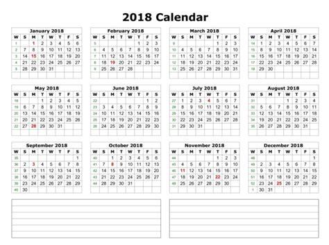 printable calendar half page 2018 calendar 2018 printable one page calendar 2018