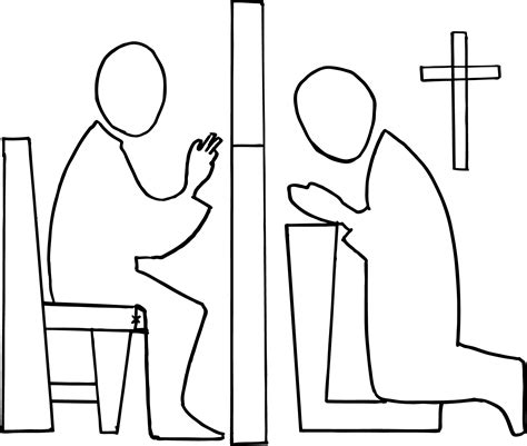 Catholic Confession Clipart catholic confession soulful muse