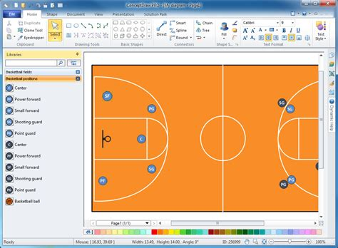 basketball play diagram software free basketball plays software