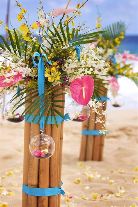 fashion female   fun hawaiian wedding decorations