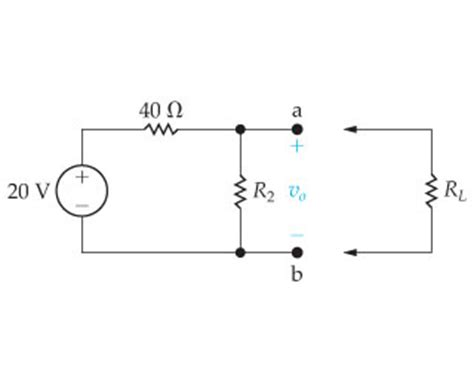 load resistor voltage divider in the voltage divider circuit shown in the figure chegg