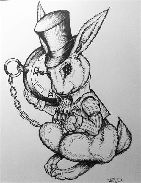 white rabbit tattoo designs 25 best ideas about white rabbit on