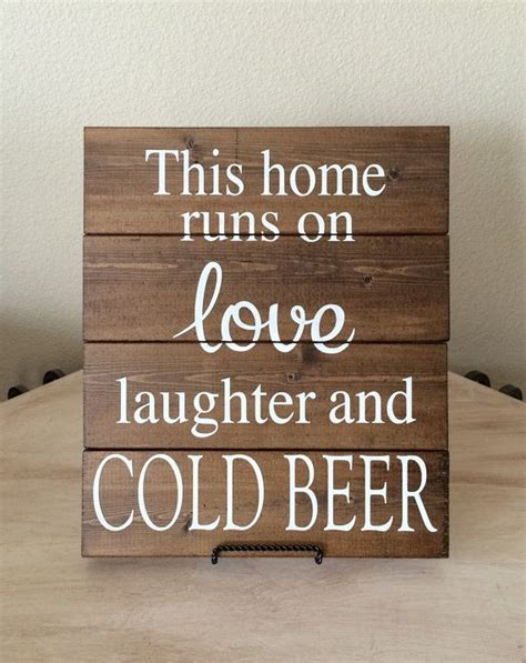 beer home decor bar sign man cave sign gift for him husband gift boyfriend