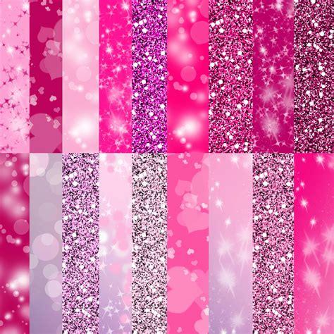 pink glitter pattern pink glitter paper digital paper in cute pink colors sparkle