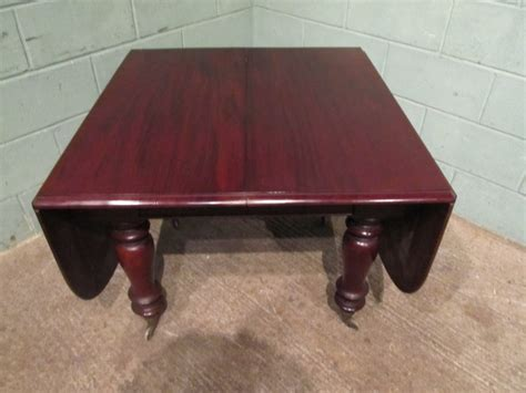 Drop Leaf Dining Table Seats 8 Antique Antique Mahogany Drop Leaf Extending Dining Table Seats 8 10 W7221 18 12 10