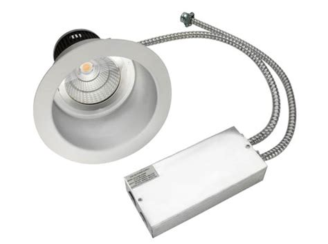 Lu Downlight 23 Watt maxlite 23 watt 2x26 watt cfl equivalent dimmable 3000k 8 quot led recessed downlight retrofit
