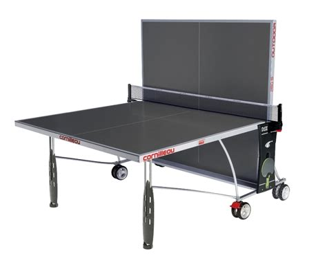 altezza tavolo ping pong ping pong sport 250s outdoor crossover cornilleau tavoli