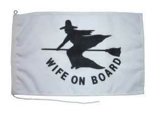 novelty boat fenders compass marine wife on board novelty flag