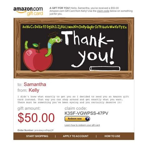 Can You Mail Gift Cards - teacher appreciation gift