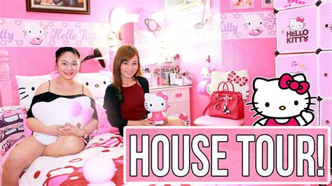 hello kitty house youtube hello kitty house tour hello kitty collection every