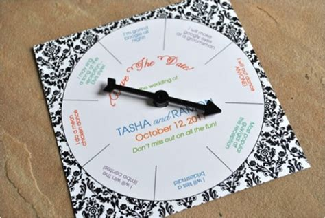 How To Make Spin Wheel Out Of Paper - 30 creative ideas to make your own wedding invitations