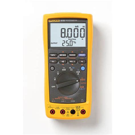 Multimeter Fluke 787 fluke 787b processmeter dmm loop calibrator with fluke