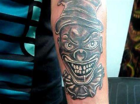 payaso tattoo payaso diabolico burlesco tatuajes osorno