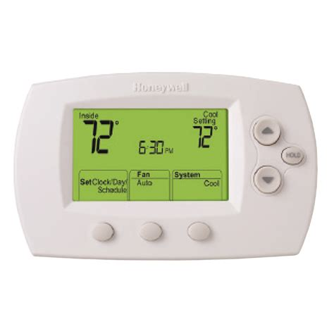 honeywell white wi-fi 7-day programmable thermostat model rth6580wf