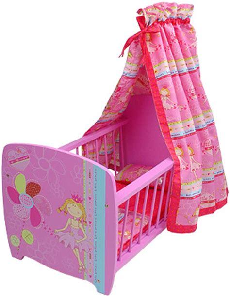 baby born bett mit himmel knorrtoys puppenbett mit himmel princess pink bei