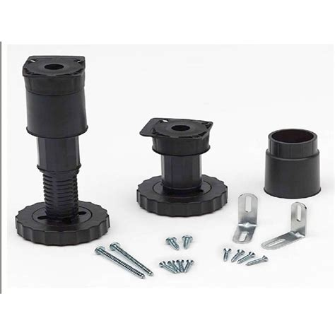 cabinet leveling closetmaid 3 3 4 in 8 in adjustable universal utility cabinet leveling kit 12009 the home depot