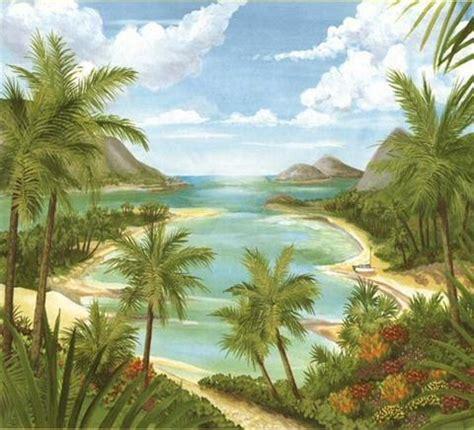 Wall Murals Beach tropical beach mural 14472021
