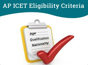 Mba Qualification In Ap by Ap Icet Eligibility Criteria 2018 Age Limit Nationality