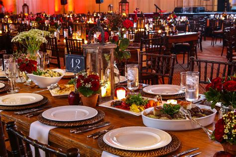 table setting family style the family style windows catering company
