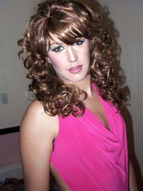 sissy curl crossdresser crossdressers pinterest