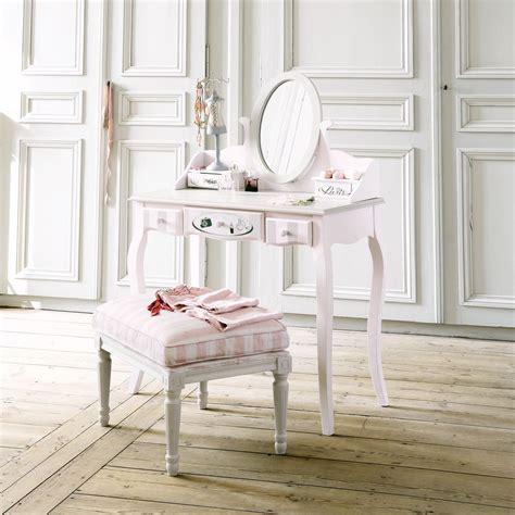 lade da tavolo maison du monde toeletta rosa in legno l 82 cm pink dressing