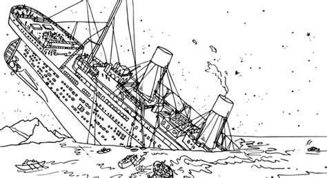 titanic underwater coloring pages titanic coloring pages homeschooling unit study