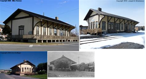 Kutztown Post Office by Railway Preservation News View Topic Best Station Area