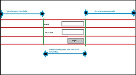 android layout align center android how to place a login form in the center of a