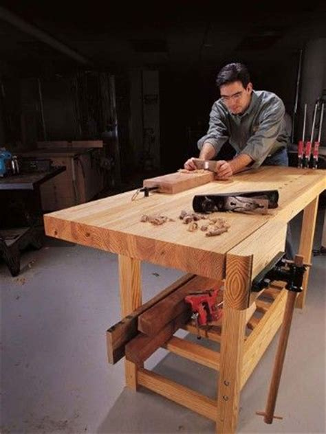 do it yourself work bench do it yourself wood shop bench work benches pinterest