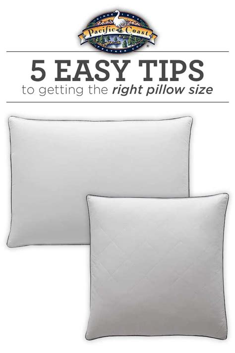 bed pillow sizes bed pillow sizes guide pacific coast bedding