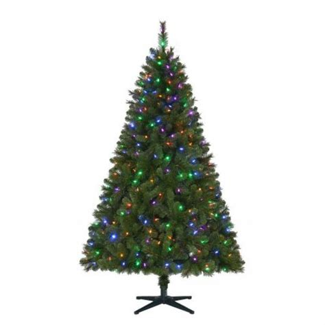 cvs christmas trees pre lit 6 5 wesley artificial pre lit led tree w color changing lights 25 shipped