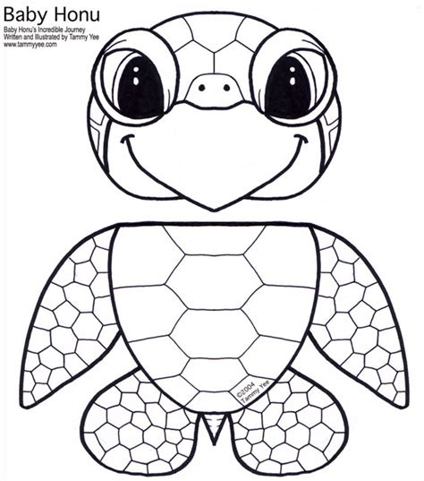 paper bag honu green sea turtle puppet