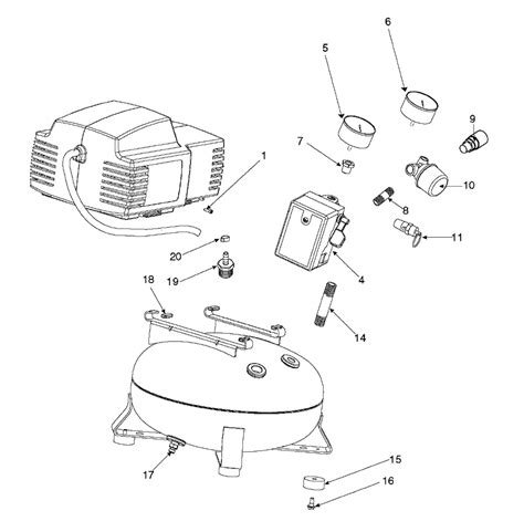 kobalt air compressor wiring diagram air free
