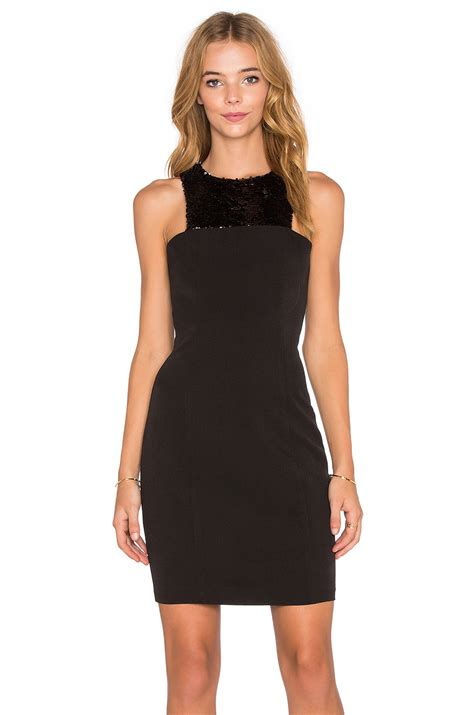 Dress Sabrina Cleo Black endless cleo sequin mini dress in black lyst