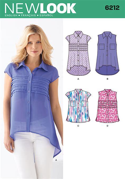 cute pattern tops new look 6212 misses top
