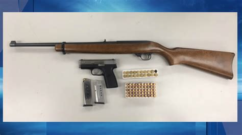 Bakersfield Warrant Search Rifle Handgun And Ammunition Seized After Search Kbak
