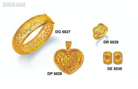 Set Perhiasan Peraksilver Lapis Emas Batu Cubic Zirconia Aaa Kac10 jual perhiasan lapis emas zhulian koleksi set quot bidadari