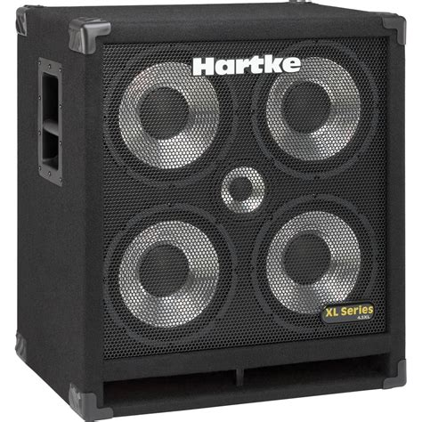 hartke bass cabinet hartke 4 5xl 4x10 quot bass cabinet with 5 quot 4 5xl b h