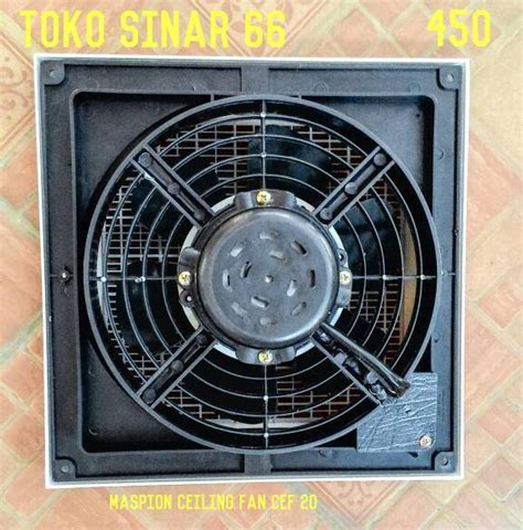 Kipas Angin Maspion Langit Langit jual maspion ceiling exhaust fan cef 20 kipas angin hisap