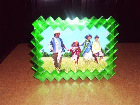 como hacer portarretratos con material reciclado c 243 mo hacer marcos de fotos con material reciclado bricolaje